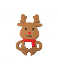 10 Schiacciate rosa scuro 10 mm