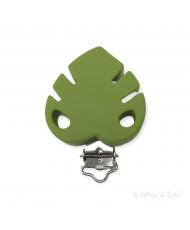 Clip Farfalla Glitter Lilla