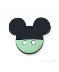 1 Clip Semplice Verde Scuro