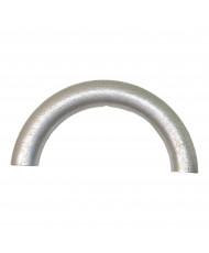 10 Schiacciate silicone Grigio chiaro 12 x 7mm