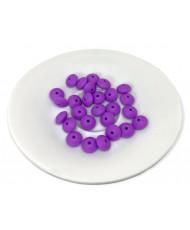 10 Perline Azzurre  8 mm