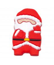 5 Perline silicone rosse 12 mm