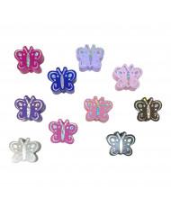 Lettere Silicone 12 mm Grigio chiaro