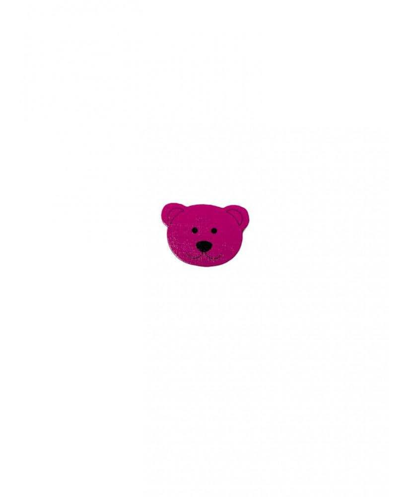 5 Perline silicone Beige 12 mm