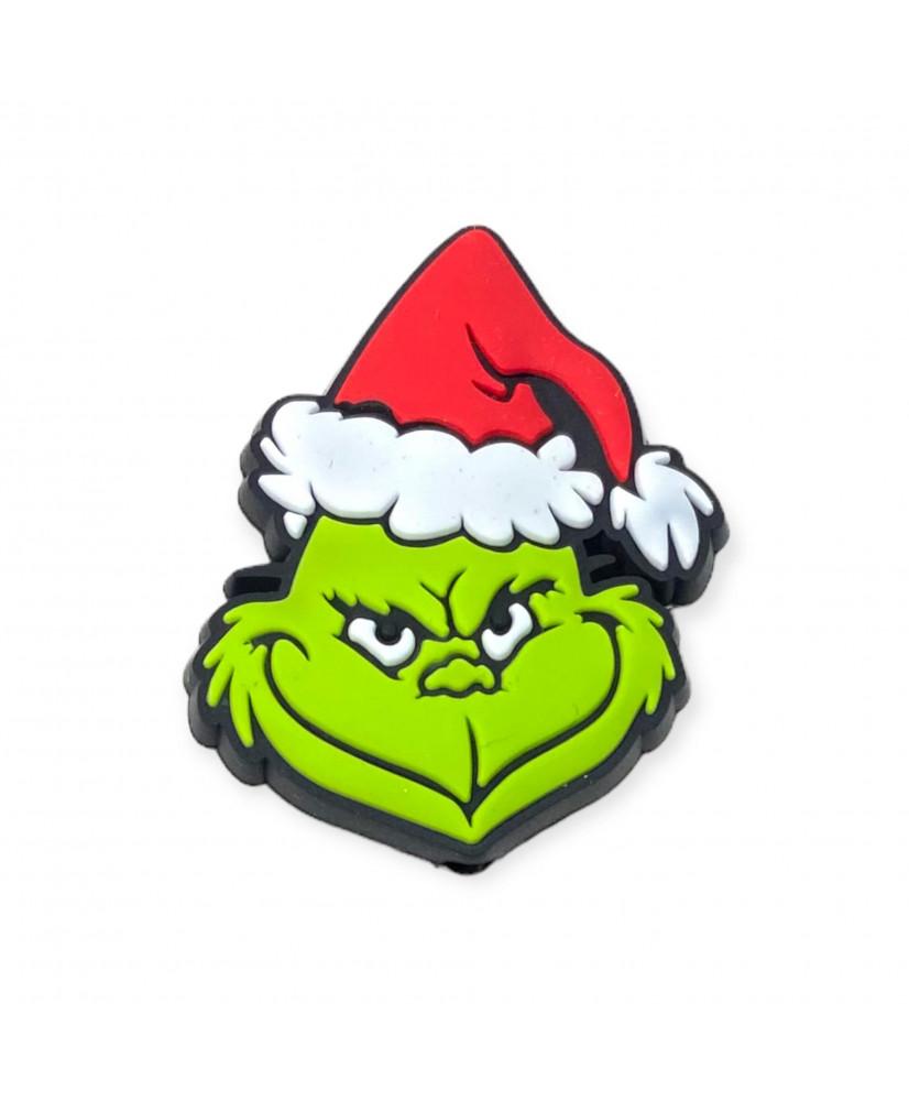 5 Perline silicone lilla 12 mm