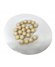 10 Perline Oro  10 mm