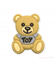 10 Perline Arancione 12 mm