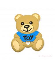 20 Perle Legno Naturale 10 mm