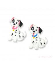 Clip Farfalla Glitter Rosa chiaro