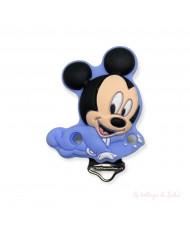 """1 Clip """" I love mom """"  Fucsia"""