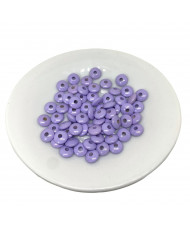 10 Perline 8 mm Babyblu